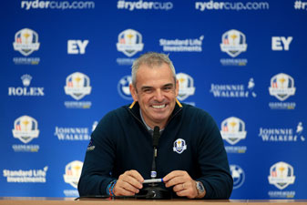 Paul McGinley addressed the media on Tuesday ahead of the 2014 Ryder Cup at Gleneagles.