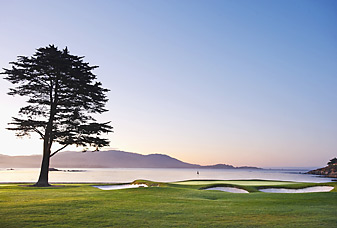 If you ever play it for yourself, it's hard to call the 18th hole at Pebble Beach overrated.