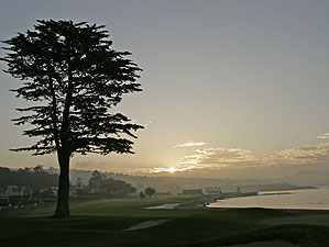 <strong>The 18th at Pebble:</strong> Imagine looking out your window at this!