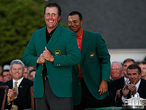 Phil Mickelson won his second green jacket at the '06 Masters.
