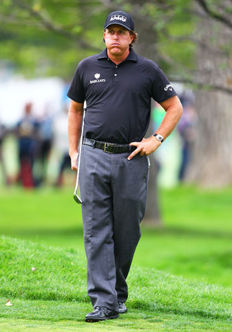 Phil Mickelson's recent spotty putting and inconsistent wedge game mean he's a question mark headed into the Ryder Cup.