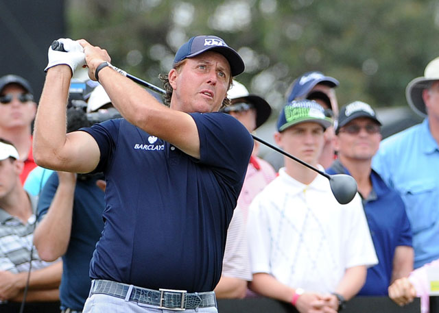 Phil Mickelson plays the second round this year at Doral.
