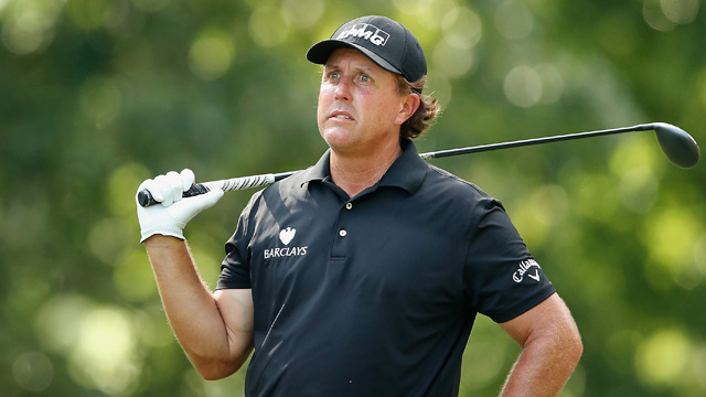 Phil Mickelson teed it up at the FedEx St. Jude Classic in Memphis in a final tuneup before next week's U.S. Open.