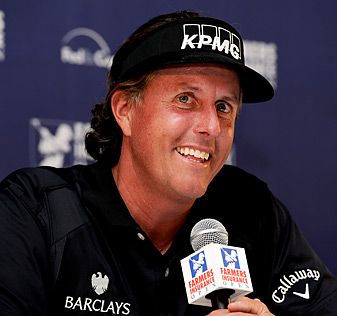 Phil Mickelson's on-course earnings and endorsements have eclipsed $50 million for 10 straight years.