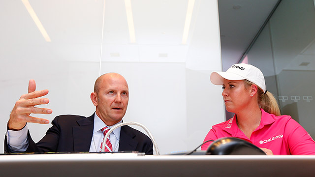 LPGA CMO Jon Podany and player Brittany Lincicome announced a new points system via Bloomberg News that will award the 'Race to the CME Globe' winner with $1 million during the 2014 season.