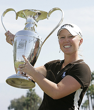 After winning the Kraft Nabisco Championship, Morgan Pressel will have to guard against a letdown at the Ginn Open in Hilton Head.