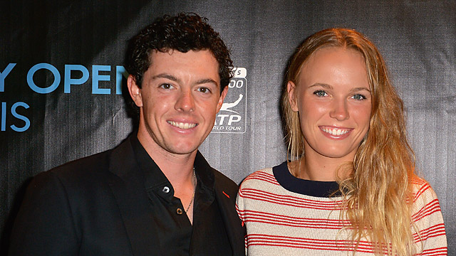 Professional tennis player Caroline Wozniacki announced her engagement to Rory McIlroy via Twitter.