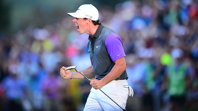 Rory roared in 2014, and he's now just a green jacket away from winning the career grand slam.