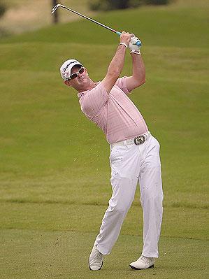 Rory Sabbatini at the Valero Texas Open
