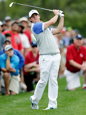Rory McIlroy was No. 1 in the world until Tiger Woods replaced him two weeks ago.