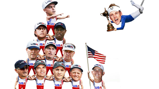 The Ryder Cup task force features three PGA of America officials, three former captains (0-2-1 record) and five players, who are a combined 42-66-19 in the competition.