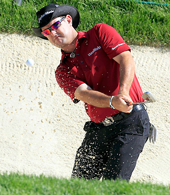 One day after finishing T2 at the Memorial (pictured), Rory Sabbatini was back on the course in a U.S. Open qualifier.