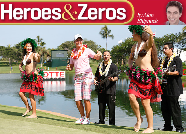 As evidenced by her win in Hawaii, Suzann Pettersen is getting her groove back.