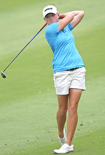 Stacy Lewis earned her sixth career LPGA title.