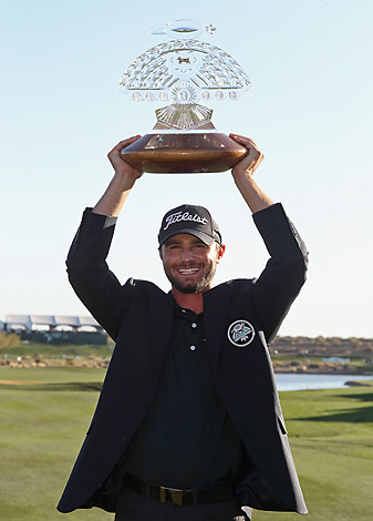 One week after blowing a huge final-round lead, Kyle Stanley raised a trophy as a PGA Tour winner.