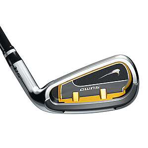 Nike's newest super game-improvement irons, the SQ Sumo.