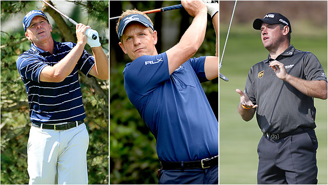 Steve Stricker, Luke Donald and Lee Westwood are among today's best players without a major victory.