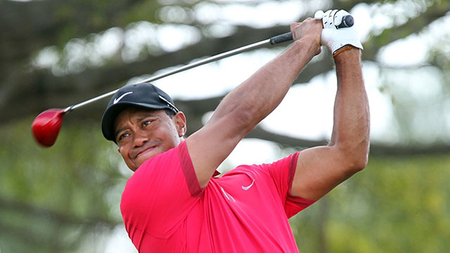 Tiger Woods shot a 78 in the final round of the WGC-Cadillac Championship at Trump National Doral in March.