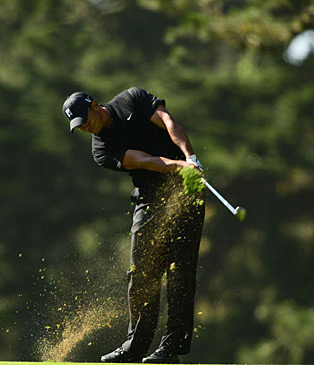 The numbers don't lie: Tiger Woods is grooving his swing with a classic tempo.