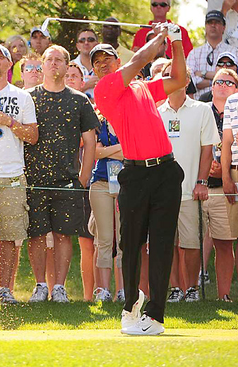 Tiger Woods earned his second victory of the season at the Memorial.