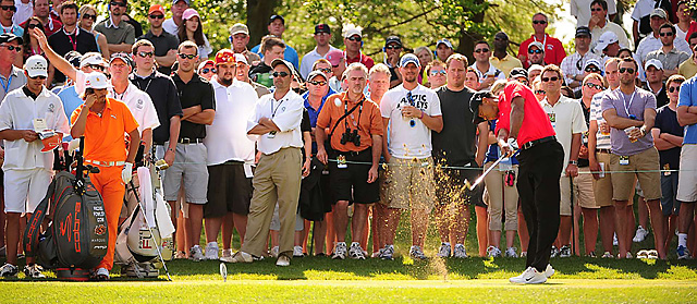 Tiger was at his Sunday best en route to a 67, clinching his 73rd PGA Tour title.