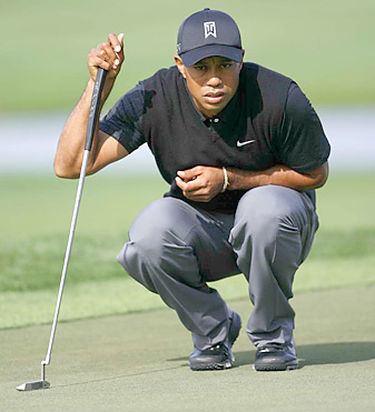 Tiger Woods tied for 37th last week at the Honda Classic.