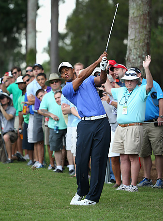 Tiger Woods is seeking his first Players Championship title since 2001.