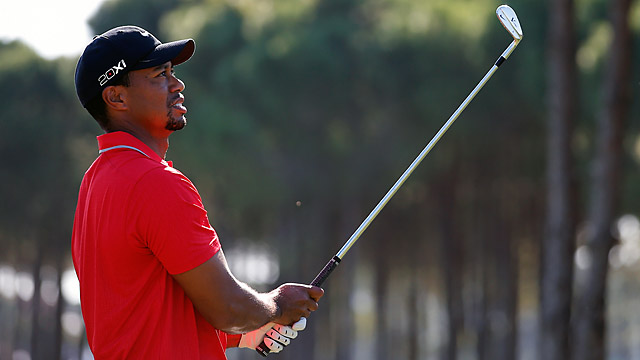 At 38, Tiger is sitting on 14 major championships, four shy of Jack Nicklaus' record.