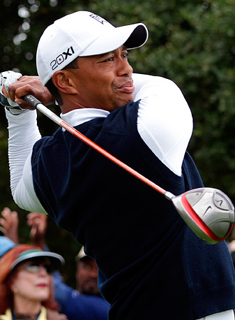 Tiger Woods at the 2011 FRYS.com Open