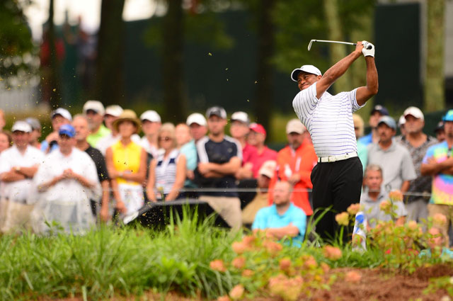 Tiger Woods missed the cut last week in the PGA Championship at Valhalla Golf Club.