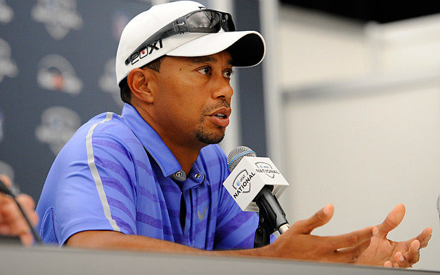 Tiger Woods will remain sidelined with an elbow injuy until the British Open.
