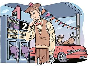 Cheap gas = Golf Roadtrip!