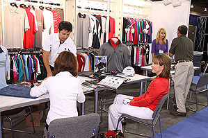 Under Armour showed new products to plenty of buyers in Las Vegas.