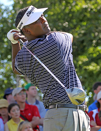 Vijay Singh admitted to using deer-antler spray, a substance banned by the PGA Tour.