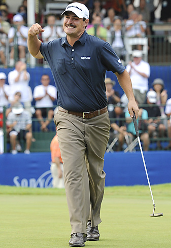 Johnson Wagner won the Sony Open by two shots.