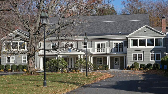 The Weston clubhouse.