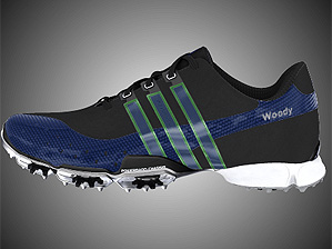 Woody Hochswender's customized Adidas PowerBand 3.0
