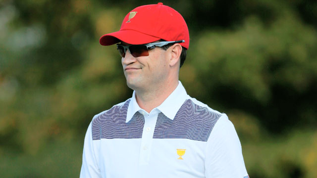 Zach Johnson won the BMW Championship and third leg of the FedEx Cup playoffs at Conway Farms in September.