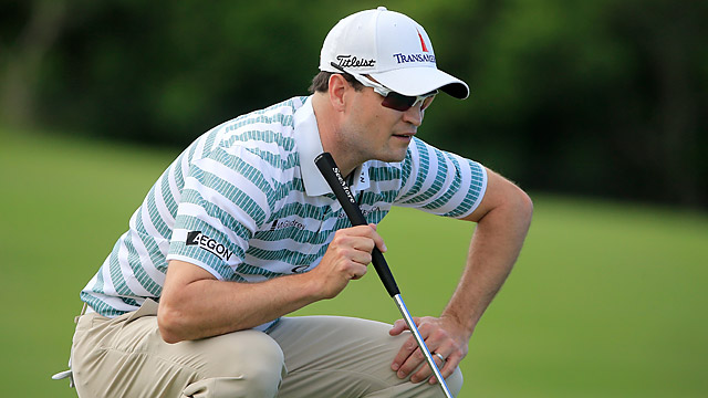 Zach Johnson's 7-under 66 on Saturday gave him a 3-shot lead.