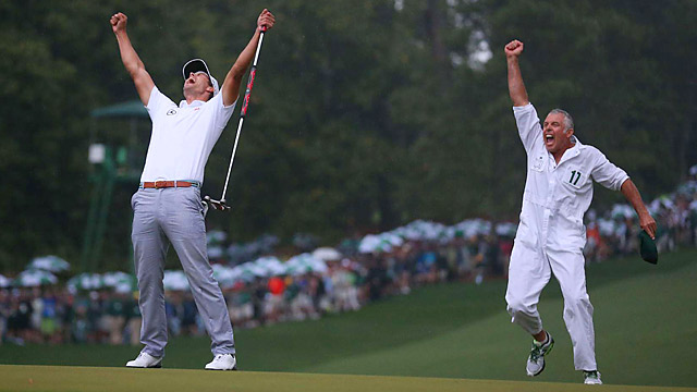 Adam Scott won the 2013 Masters and tops Van Sickle's list of the best players with only one major win.