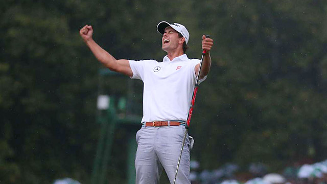 Adam Scott has a lifetime exemption to the Masters thanks to his victory in 2013.