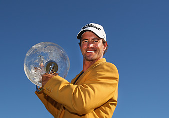 Adam Scott shot a 67 on Sunday to win by four.
