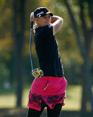 Anna Nordqvist shot 65 in the final round.