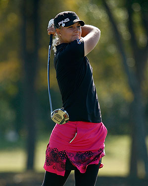 Anna Nordqvist shot 65 in the final round.