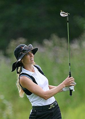 Anna Rawson shot a course record on Thursday.