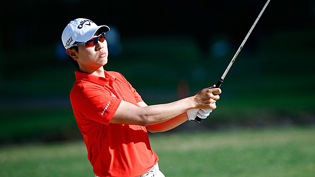 Sang-Moon Bae's opening-round 63 was good enough for the lead.