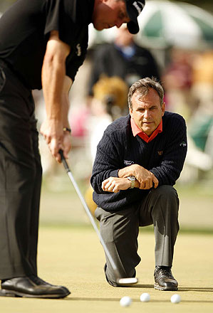 Rick Smith is not only Phil Mickelson's coach. They are also close friends and business partners.