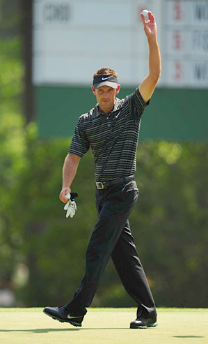 Charl Schwartzel won the Masters, the season's first major.