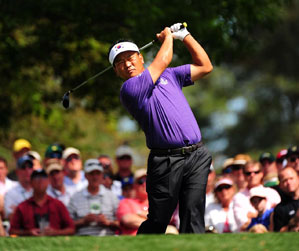 K.J. Choi is paired with Tiger Woods for the fourth straight day.