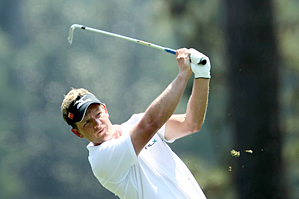 Luke Donald couldn't overcome a double bogey on No. 12.